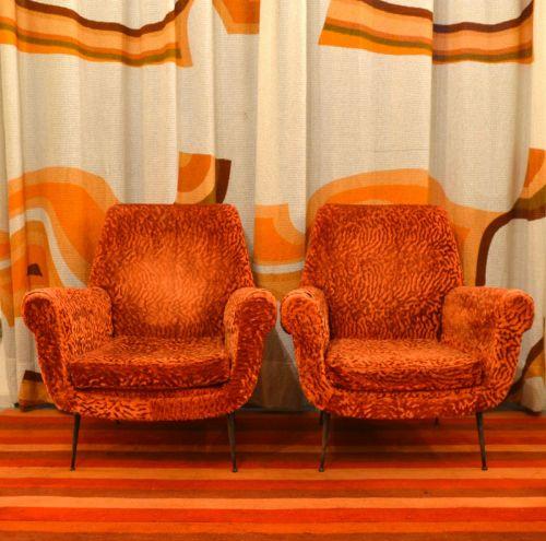 Salotto-poltrone-divano-Gigi-Radice-anni '50